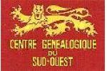 Logo Centre Généalogique du Sud-Ouest
