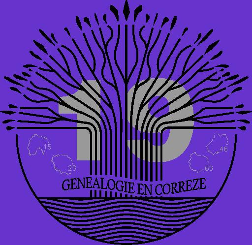 Logo Généalogie en Corrèze