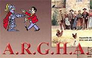 Logo Association de Recherches Généalogiques et Historiques d'Auvergne